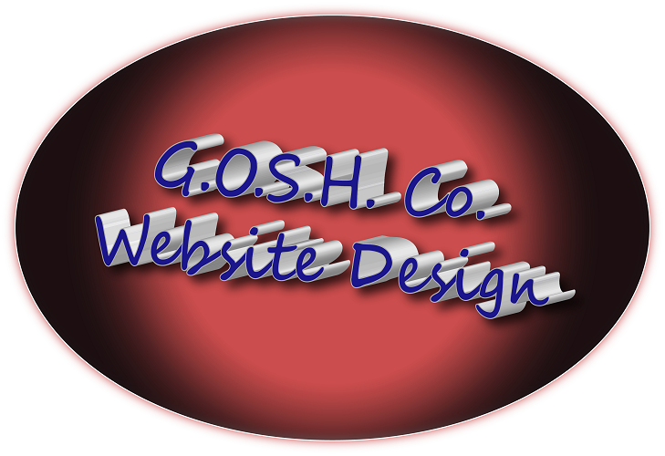 GOSH Co. Website Design